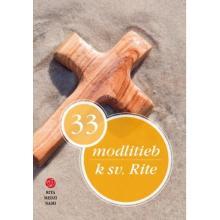 33 modlitieb k sv. Rite - Jozef Jurdák (ed.)