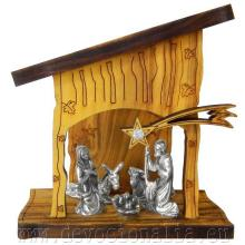 Betlehém  - 5x9x8cm - olivové drevo