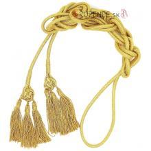Cingulum - zlatý - 3 strapce