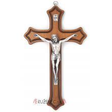 Drevený kríž 25cm - hnedý