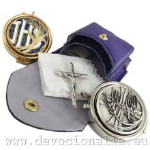 Dvojitá kapsula na Eucharistiu s púzdrom