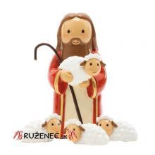 Ježiš - dobrý pastier - 8cm