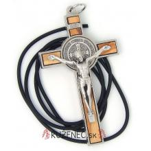 Kovový krížik 7.5cm - sv. Benedikt
