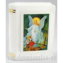 Krabička na ruženec 4.8x6cm - Anjel strážca