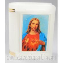 Krabička na ruženec 4.8x6cm - Božské Srdce