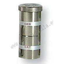 Nádobka na sv. olej - CAT+CHR - 26x60mm