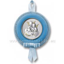Ozdoba na detskú postieľku - modrá