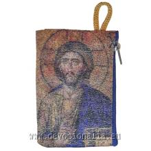Puzdro na ruženec - tkané - Ježiš