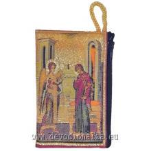 Puzdro na ruženec - tkané - Zvestovanie