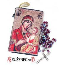 Puzdro + ruženec - Madona C