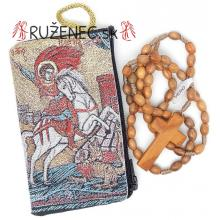 Puzdro + ruženec - sv. Juraj