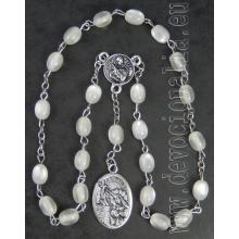 Ruženec - sv. Rita - biela perleť