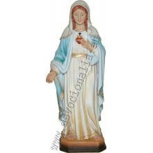Socha - Nepoškvrnené Srdce Panny Márie - 30 cm