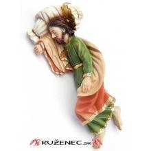 Socha - Svätý Jozef spiaci - 20 cm