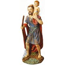 Socha - Svätý Krištof - 30 cm