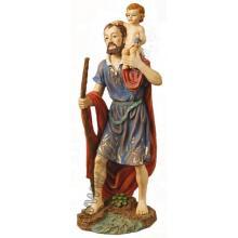 Socha - Svätý Krištof - 40 cm