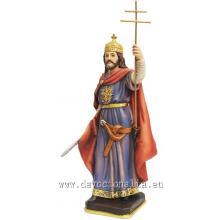 Socha - Svätý Štefan kráľ - 20 cm