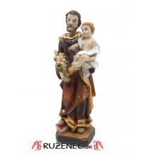 Soška - Svätý Jozef - 12,5cm
