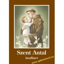 Szent Antal imafüzet