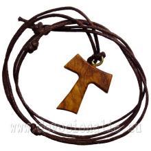Tau krížik na šnúrke 2.3cm