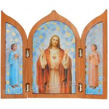 Triptych - Božské Srdce