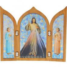 Triptych - Milosrdný Ježiš