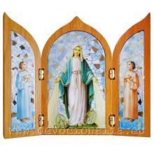 Triptych 12x10cm - Zázračná Medaila