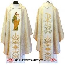 Zlatý ornát - výšivka - Svätý Jozef